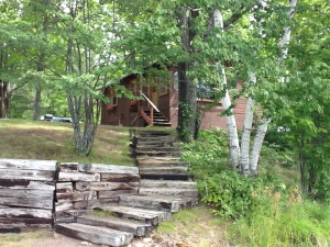 Two housekeeping cabins with 2 bedrooms on private Margaret Lake in Mercer, WI