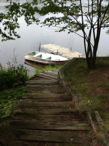 Dock at cabin #1