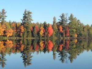 Fall colorama across Margaret Lake